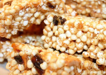 Puffed Millet and Brown Rice Treats