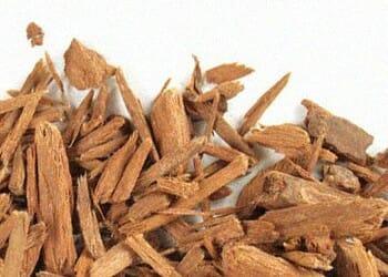 A yohimbine wood chips