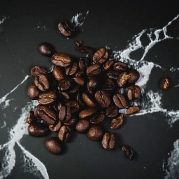 fresh beans of coffee