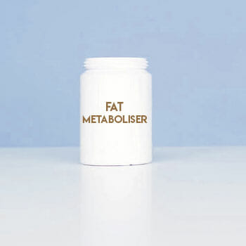 container of a fat metaboliser