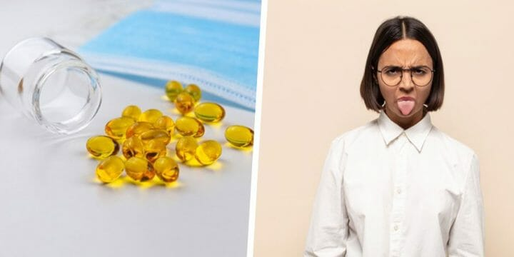 your guide to removing the Fish Oil taste