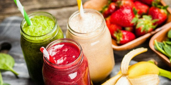 Pre workout smoothies