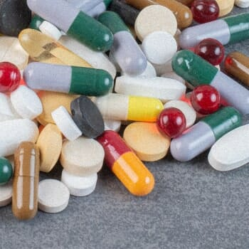 Different types of multivitamins combined