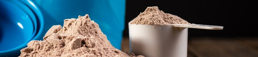 A scoop of weight gainers