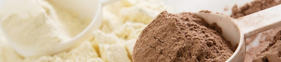 A scoop of mass gainers