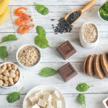 magnesium food sources in an image