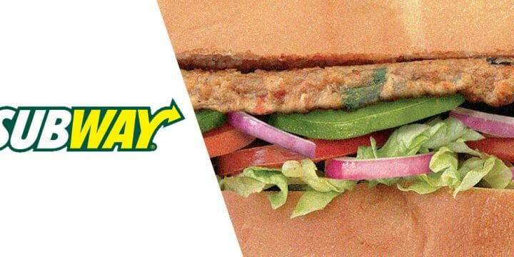 your guide to Subway Veggie Patty