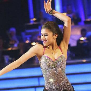 Zendaya on dancing with the stars