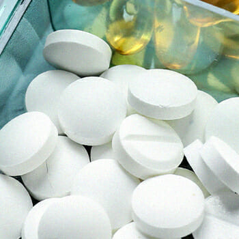 Close up image of pills